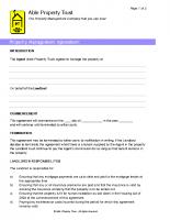 Property Management Agreement Form