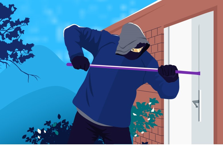 Burglars blocked! How to protect your house from burglary
